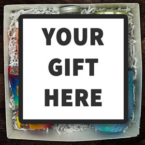 The Gift Goose can design or customize any gift to suit your needs.  You can include your own brande
