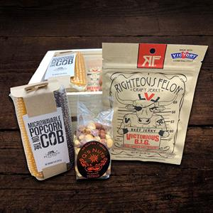 Poppin´ Hot Snack Box-You can´t go wrong with this hunger satisfying box! The Poppin´ Hot box contai