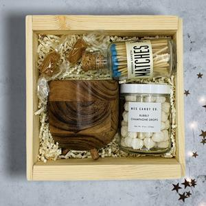 Celebrate a great accomplishment, goal or milestone with this celebration gift box. The Let's Celebr