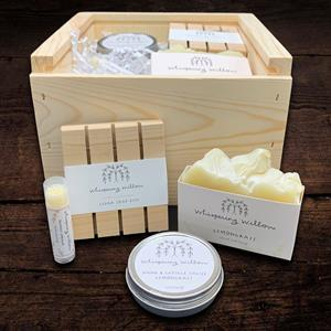 This gift box is an invitation for the recipient to slow down a bit and make some time for themselve