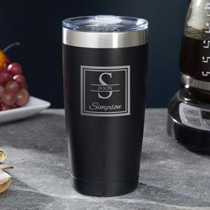 When you put someone's name on a gift, it become more special.  This personalized tumbler is a great