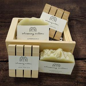 Lemongrass soap has a fresh, clean aroma that awakens the senses and clears the mind while cleansing
