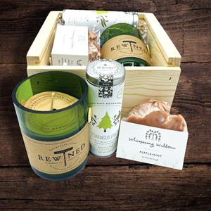 Treat someone to these awesome artisan made gifts all handmade in the USA. Nestled inside the tin ca