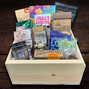 Send any company a variety of snacks to enjoy in their break room.    When you add the option of e