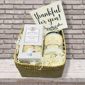 Show your appreciation for a friend, relative or client by sending cookie treats and scents of the T